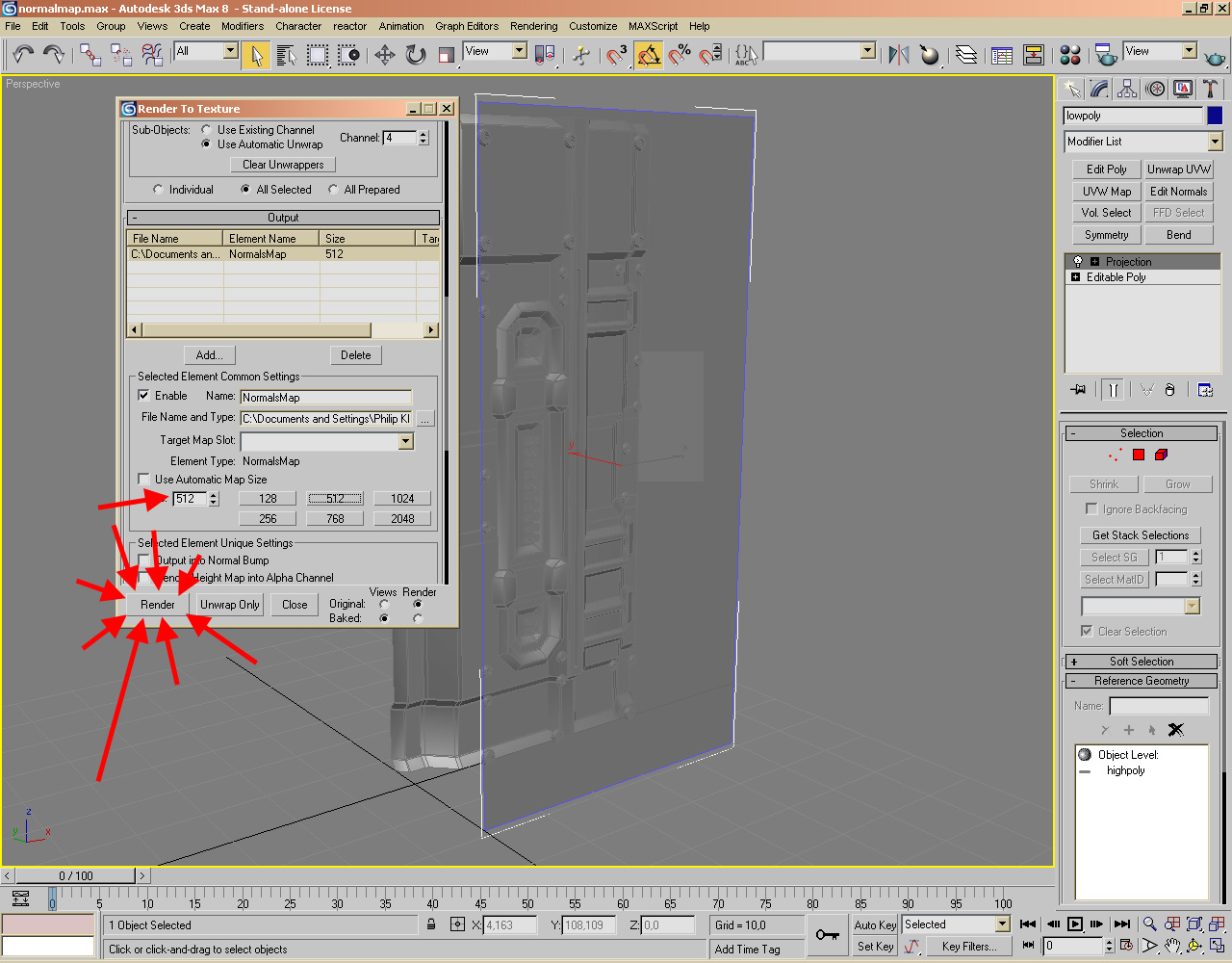 how to make a normal map in photoshop cs6