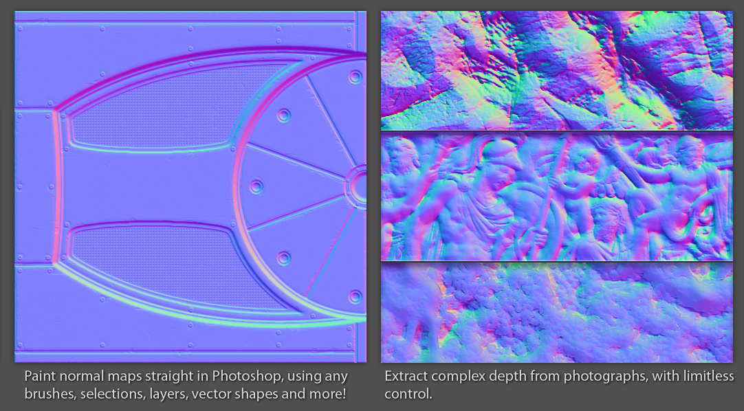 ndo normal map toolkit for photoshop